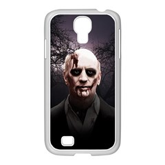 Zombie Samsung Galaxy S4 I9500/ I9505 Case (white) by Valentinaart