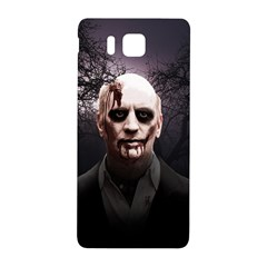 Zombie Samsung Galaxy Alpha Hardshell Back Case by Valentinaart