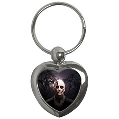 Zombie Key Chains (heart)  by Valentinaart