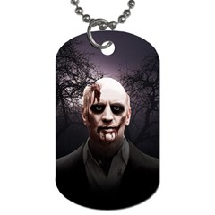 Zombie Dog Tag (two Sides) by Valentinaart