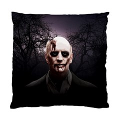 Zombie Standard Cushion Case (one Side) by Valentinaart