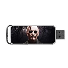 Zombie Portable Usb Flash (two Sides) by Valentinaart