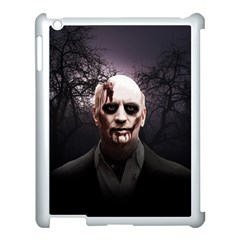Zombie Apple Ipad 3/4 Case (white) by Valentinaart