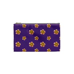 Ditsy Floral Pattern Design Cosmetic Bag (small)  by dflcprints