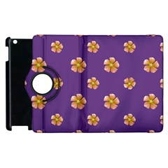 Ditsy Floral Pattern Design Apple Ipad 2 Flip 360 Case by dflcprints
