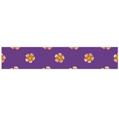 Ditsy Floral Pattern Design Flano Scarf (large) by dflcprints