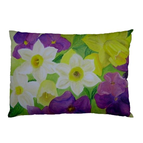 Floral Pillow Cases By Zohar Rosenbookh   Pillow Case   Ofh4x8wgh6fk   Www Artscow Com 26.62 x18.9 Pillow Case