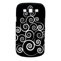 Abstract Spiral Christmas Tree Samsung Galaxy S Iii Classic Hardshell Case (pc+silicone) by Mariart