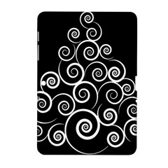 Abstract Spiral Christmas Tree Samsung Galaxy Tab 2 (10 1 ) P5100 Hardshell Case  by Mariart