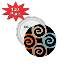 Abroad Spines Circle 1 75  Buttons (100 Pack)  by Mariart