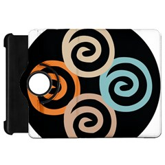 Abroad Spines Circle Kindle Fire Hd 7  by Mariart