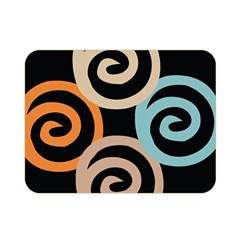 Abroad Spines Circle Double Sided Flano Blanket (mini)  by Mariart