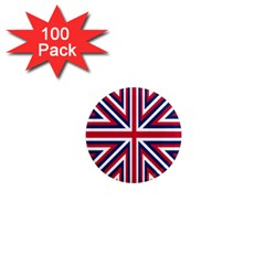 Alternatively Mega British America 1  Mini Magnets (100 Pack)  by Mariart