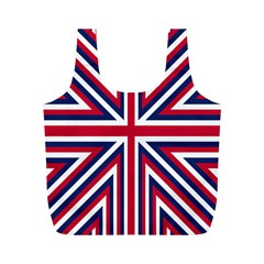 Alternatively Mega British America Full Print Recycle Bags (m)  by Mariart