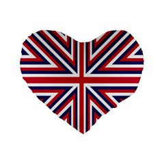 Alternatively Mega British America Standard 16  Premium Flano Heart Shape Cushions by Mariart