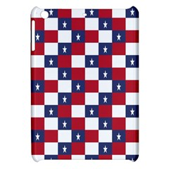 American Flag Star White Red Blue Apple Ipad Mini Hardshell Case by Mariart