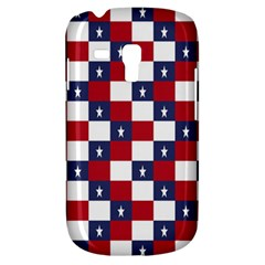 American Flag Star White Red Blue Galaxy S3 Mini by Mariart