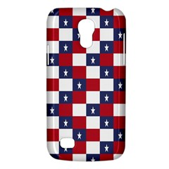 American Flag Star White Red Blue Galaxy S4 Mini by Mariart