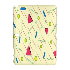 Background  With Lines Triangles Galaxy Note 1 by Mariart