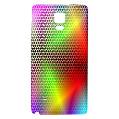 Abstract Rainbow Pattern Colorful Stars Space Galaxy Note 4 Back Case by Mariart
