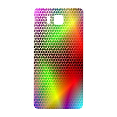 Abstract Rainbow Pattern Colorful Stars Space Samsung Galaxy Alpha Hardshell Back Case by Mariart