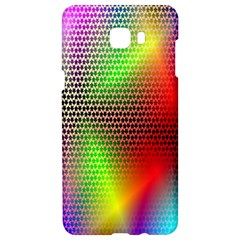 Abstract Rainbow Pattern Colorful Stars Space Samsung C9 Pro Hardshell Case  by Mariart