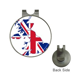 Britain Flag England Nations Hat Clips With Golf Markers by Mariart