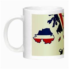 Britain Flag England Nations Night Luminous Mugs by Mariart