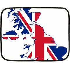 Britain Flag England Nations Double Sided Fleece Blanket (mini)  by Mariart