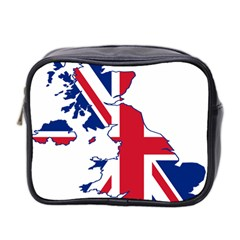Britain Flag England Nations Mini Toiletries Bag 2 Side by Mariart