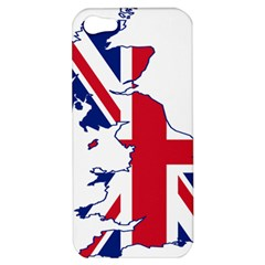Britain Flag England Nations Apple Iphone 5 Hardshell Case by Mariart