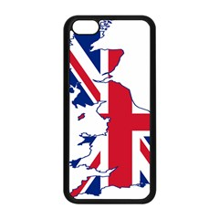 Britain Flag England Nations Apple Iphone 5c Seamless Case (black) by Mariart
