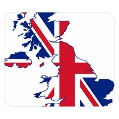 Britain Flag England Nations Double Sided Flano Blanket (small)  by Mariart