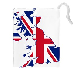 Britain Flag England Nations Drawstring Pouches (xxl) by Mariart