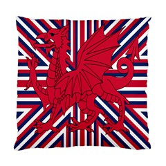 Alternatively Mega British America Red Dragon Standard Cushion Case (two Sides) by Mariart