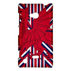 Alternatively Mega British America Red Dragon Nokia Lumia 720 by Mariart