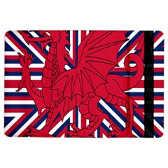 Alternatively Mega British America Red Dragon Ipad Air 2 Flip by Mariart