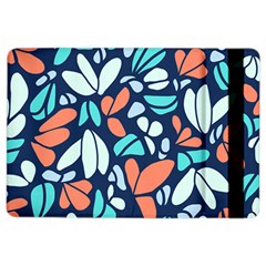Blue Tossed Flower Floral Ipad Air 2 Flip by Mariart