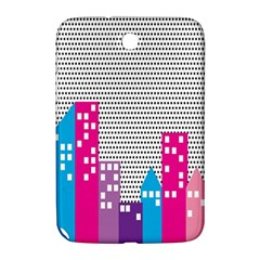 Building Polka City Rainbow Samsung Galaxy Note 8 0 N5100 Hardshell Case  by Mariart