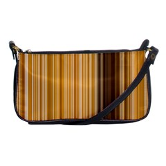 Brown Verticals Lines Stripes Colorful Shoulder Clutch Bags by Mariart
