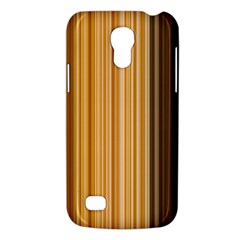 Brown Verticals Lines Stripes Colorful Galaxy S4 Mini by Mariart