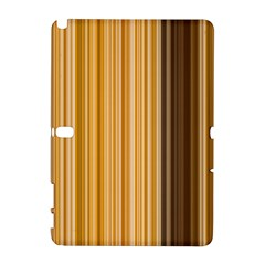 Brown Verticals Lines Stripes Colorful Galaxy Note 1 by Mariart