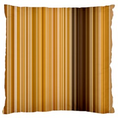 Brown Verticals Lines Stripes Colorful Standard Flano Cushion Case (two Sides) by Mariart