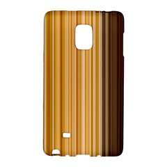 Brown Verticals Lines Stripes Colorful Galaxy Note Edge by Mariart