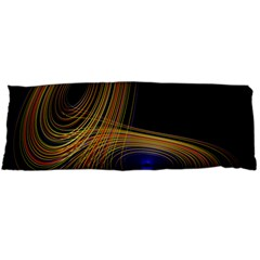 Wondrous Trajectorie Illustrated Line Light Black Body Pillow Case Dakimakura (two Sides) by Mariart