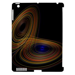 Wondrous Trajectorie Illustrated Line Light Black Apple Ipad 3/4 Hardshell Case (compatible With Smart Cover) by Mariart