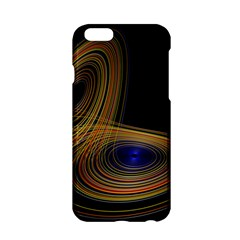 Wondrous Trajectorie Illustrated Line Light Black Apple Iphone 6/6s Hardshell Case by Mariart