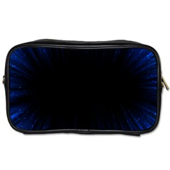 Colorful Light Ray Border Animation Loop Blue Motion Background Space Toiletries Bags 2 Side by Mariart
