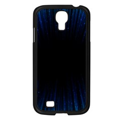 Colorful Light Ray Border Animation Loop Blue Motion Background Space Samsung Galaxy S4 I9500/ I9505 Case (black) by Mariart