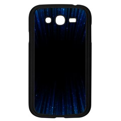Colorful Light Ray Border Animation Loop Blue Motion Background Space Samsung Galaxy Grand Duos I9082 Case (black) by Mariart